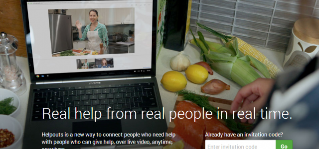"Google ""Helpouts,"" a help-for-cash video chat service"