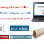 Colleges/Universities Offering online MS Programs