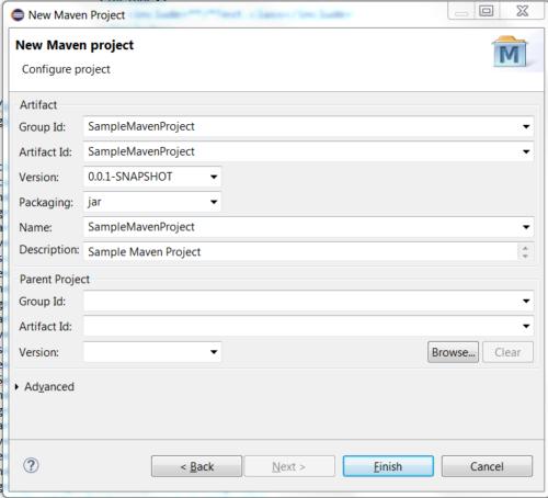 Understanding Maven POM XML File